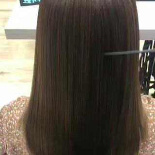 トリートメント ロング 美髪 髪の病院 ヘアスタイルや髪型の写真・画像