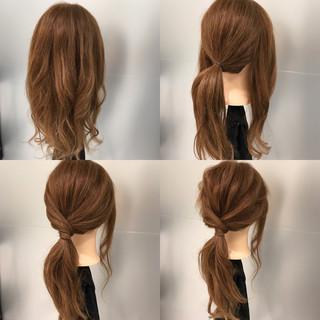 簡単 ロング ポニーテール ヘアアレンジ ヘアスタイルや髪型の写真・画像 ヘアスタイルや髪型の写真・画像