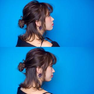 ハイライト ヘアアレンジ 外ハネ こなれ感 ヘアスタイルや髪型の写真・画像 ヘアスタイルや髪型の写真・画像