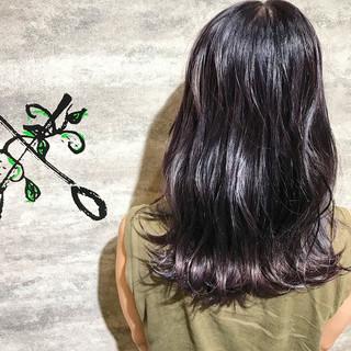 ブリーチ フェミニン デート イルミナカラー ヘアスタイルや髪型の写真・画像