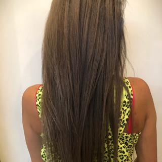 女子力 外国人風カラー アッシュ 外国人風 ヘアスタイルや髪型の写真・画像
