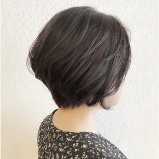 ヘアアレンジ ミニボブ 簡単ヘアアレンジ モード ヘアスタイルや髪型の写真・画像
