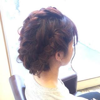 デート ショート ヘアアレンジ ミディアム ヘアスタイルや髪型の写真・画像