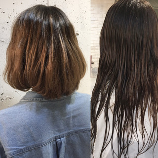 ニュアンス ナチュラル 色気 モード ヘアスタイルや髪型の写真・画像