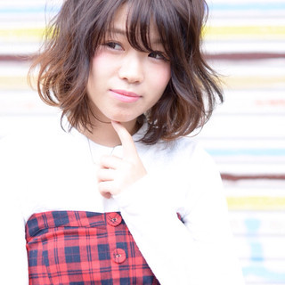 葛崎 明日香さんのヘアスナップ