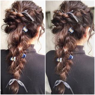 フェミニン ヘアアレンジ 簡単ヘアアレンジ ショート ヘアスタイルや髪型の写真・画像