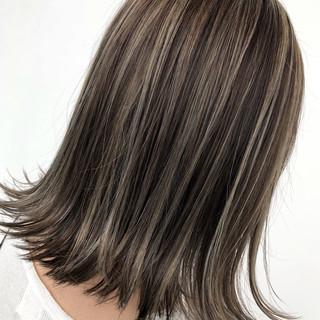アウトドア ストリート ロブ 簡単ヘアアレンジ ヘアスタイルや髪型の写真・画像
