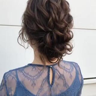 おしゃれさんと繋がりたい ゆるナチュラル フェミニン ヘアアレンジ ヘアスタイルや髪型の写真・画像