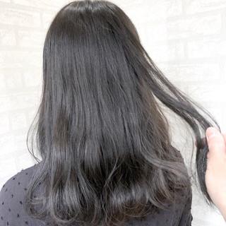 セミロング ナチュラル 透明感 外国人風 ヘアスタイルや髪型の写真・画像