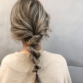 デート ヘアアレンジ フェミニン スポーツ ヘアスタイルや髪型の写真・画像 ヘアスタイルや髪型の写真・画像