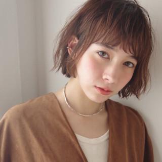 ラフ パーマ 外国人風 大人かわいい ヘアスタイルや髪型の写真・画像