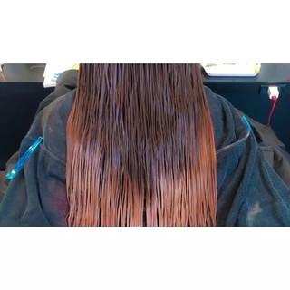 グラデーションカラー ロング デート ハロウィン ヘアスタイルや髪型の写真・画像