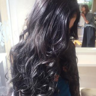 秋 フェミニン グラデーションカラー ハロウィン ヘアスタイルや髪型の写真・画像