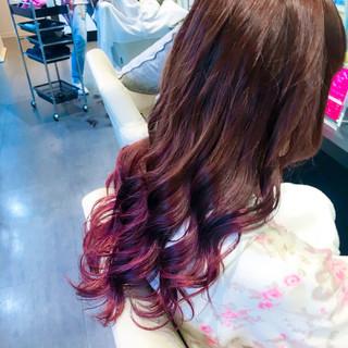 秋 ガーリー ロング ハロウィン ヘアスタイルや髪型の写真・画像