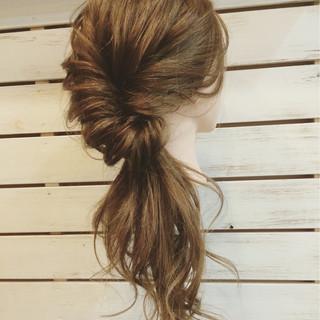 ハーフアップ ヘアアレンジ ロング 大人女子 ヘアスタイルや髪型の写真・画像