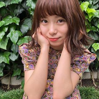 透明感 ボブ かわいい 大人女子 ヘアスタイルや髪型の写真・画像 ヘアスタイルや髪型の写真・画像
