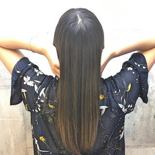 透明感 外国人風カラー ロング イルミナカラー ヘアスタイルや髪型の写真・画像