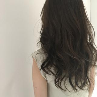 ロング 外国人風 アッシュ グラデーションカラー ヘアスタイルや髪型の写真・画像