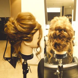 ヘアアレンジ 簡単ヘアアレンジ かわいい 大人かわいい ヘアスタイルや髪型の写真・画像