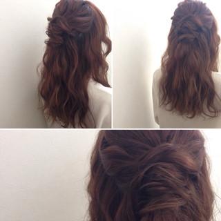 ヘアアレンジ 簡単ヘアアレンジ ゆるふわ ショート ヘアスタイルや髪型の写真・画像 ヘアスタイルや髪型の写真・画像