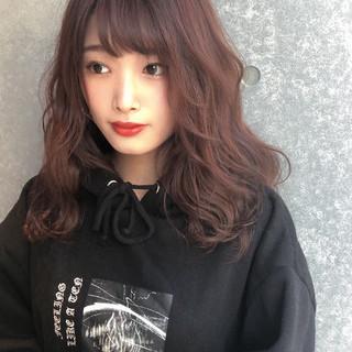 艶髪 ヘアカラー ナチュラル デート ヘアスタイルや髪型の写真・画像