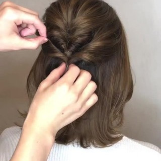 ヘアアレンジ 大人女子 デート ナチュラル ヘアスタイルや髪型の写真・画像