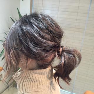 簡単ヘアアレンジ ゆるふわ 大人かわいい ヘアアレンジ ヘアスタイルや髪型の写真・画像 ヘアスタイルや髪型の写真・画像