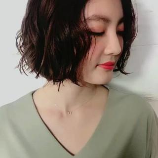 大人女子 小顔 ナチュラル 色気 ヘアスタイルや髪型の写真・画像
