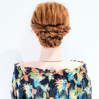 フェミニン 涼しげ ロング 結婚式 ヘアスタイルや髪型の写真・画像 ヘアスタイルや髪型の写真・画像
