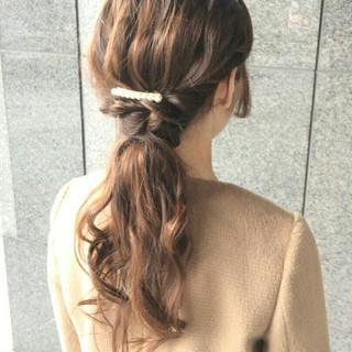 ショート ゆるふわ ナチュラル 簡単ヘアアレンジ ヘアスタイルや髪型の写真・画像