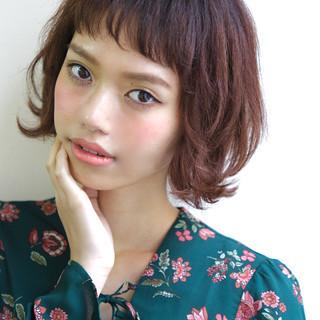 フェミニン ウェーブ モード 外国人風 ヘアスタイルや髪型の写真・画像