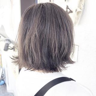 モテボブ 前下がりボブ ボブ ナチュラル ヘアスタイルや髪型の写真・画像