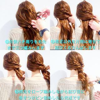 ロング フェミニン バレンタイン アンニュイ ヘアスタイルや髪型の写真・画像