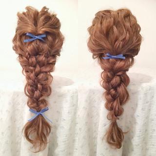 大人かわいい ショート ロング 簡単ヘアアレンジ ヘアスタイルや髪型の写真・画像