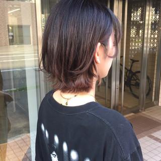 ショートバング ショートヘア ハンサムショート 前下がりショート ヘアスタイルや髪型の写真・画像