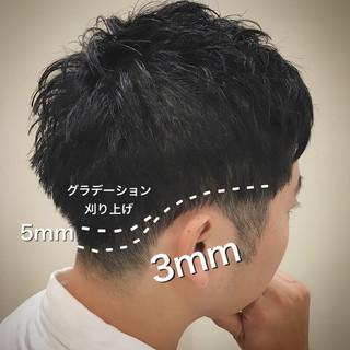 大人ショート 刈り上げ メンズカット ショート ヘアスタイルや髪型の写真・画像