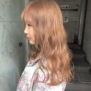 ハイトーンカラー 韓国ヘア ストリート 外国人風 ヘアスタイルや髪型の写真・画像