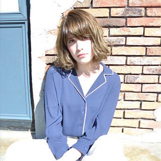 ボブ 色気 大人女子 こなれ感 ヘアスタイルや髪型の写真・画像