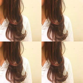 波ウェーブ 外国人風 フェミニン ヘアアレンジ ヘアスタイルや髪型の写真・画像