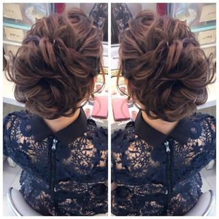 ナチュラル 成人式 簡単ヘアアレンジ ロング ヘアスタイルや髪型の写真・画像
