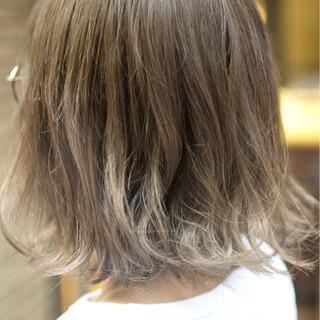グラデーションカラー ハイライト ダブルカラー ガーリー ヘアスタイルや髪型の写真・画像