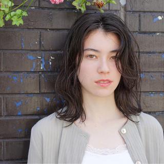 ゆるふわ フェミニン ラフ 透明感 ヘアスタイルや髪型の写真・画像
