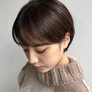 ショートヘア ショート 小顔ショート 大人かわいい ヘアスタイルや髪型の写真・画像