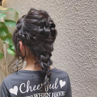 ヘアアレンジ オフィス デート 冬 ヘアスタイルや髪型の写真・画像