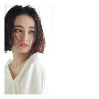 大人かわいい ナチュラル 小顔 こなれ感 ヘアスタイルや髪型の写真・画像