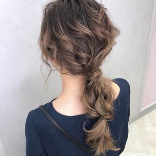 フェミニン 大人かわいい ロング 結婚式 ヘアスタイルや髪型の写真・画像