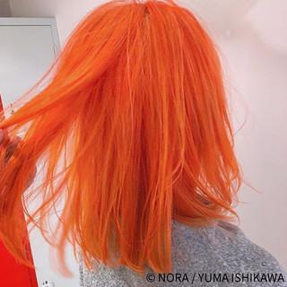 ミディアム 外国人風 ストリート 外国人風カラー ヘアスタイルや髪型の写真・画像
