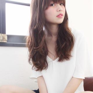 大人かわいい 外国人風 フェミニン ゆるふわ ヘアスタイルや髪型の写真・画像