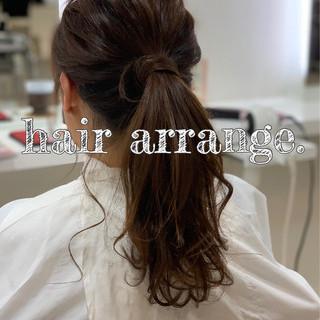 デート 簡単ヘアアレンジ 巻き髪 ナチュラル ヘアスタイルや髪型の写真・画像 ヘアスタイルや髪型の写真・画像