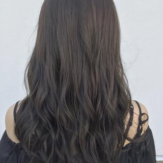 外国人風 ナチュラル ロング アッシュ ヘアスタイルや髪型の写真・画像 ヘアスタイルや髪型の写真・画像